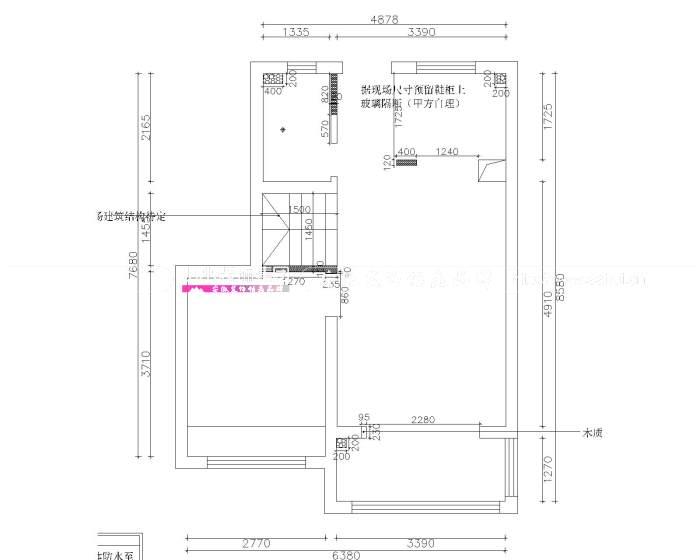 和睦公馆100㎡北欧风格新房装修设计案例解析