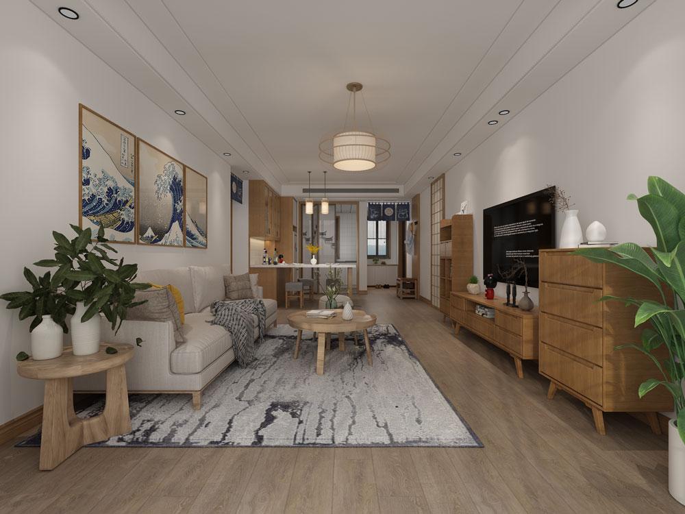 客厅想要舒适大气,沙发与茶几大小尺寸搭配要合理!