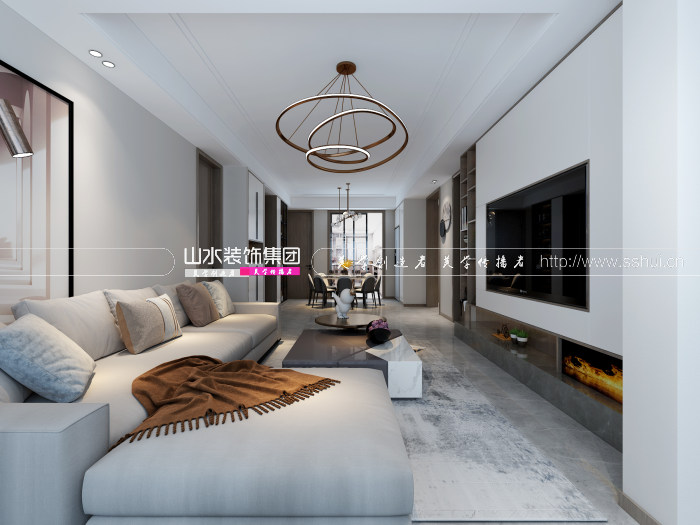 轻奢风格新房装修设计案例解析