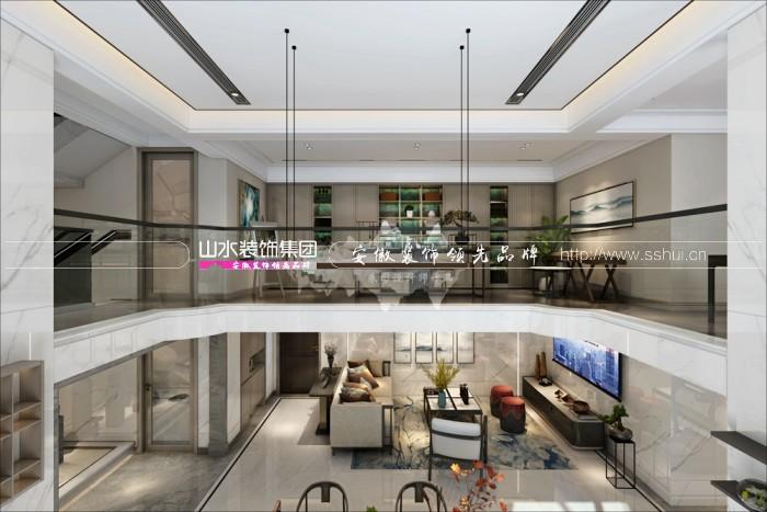 云谷300㎡新中式装修案例