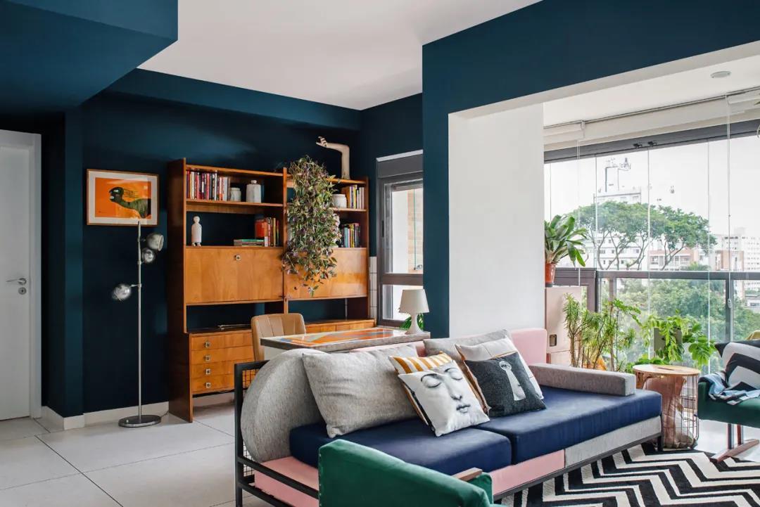 家装中如何配色更加合理?山水装饰设计师来支招
