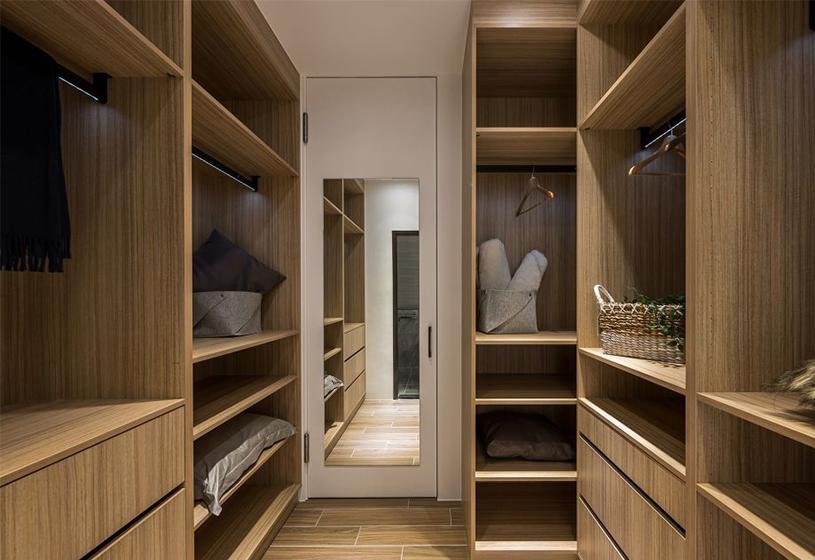 小户型也能拥有衣帽间,家里这些空间都能利用上了