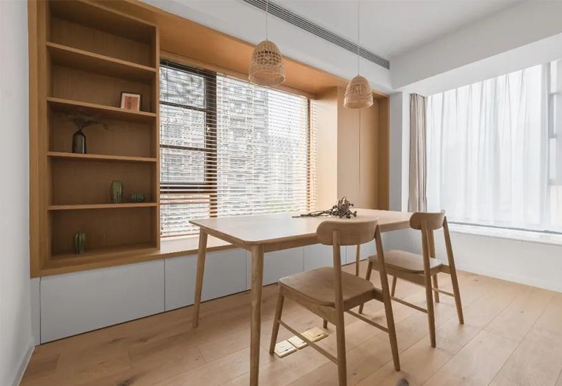 四种超实用飘窗设计方案,看看有没有适合你家的?