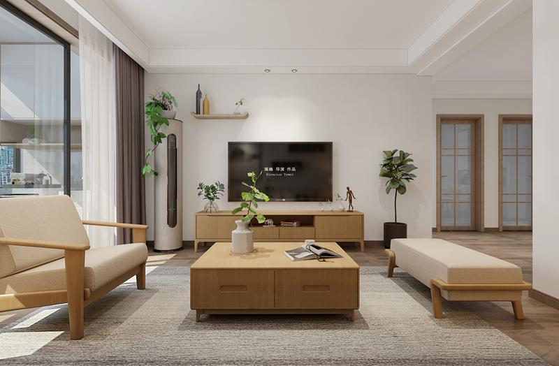 日式风格怎么装修好看又实用?银领时代90平米日式风格装修